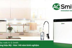 A. O. Smith ra mắt dòng sản phẩm xác lập chuẩn mực mới về công nghệ và thiết kế cho máy lọc nước
