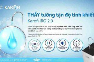 Karofi 2.0 – Dòng Máy thông minh cho thấy tường tận độ tinh khiết